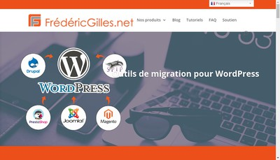 Site internet de Frederic Gilles