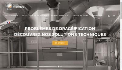 Site internet de Frederic Menguy