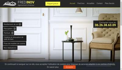 Site internet de Fred Inov