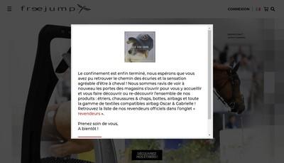 Site internet de Saddle-Up