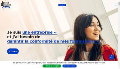 Site internet de Franck Provost