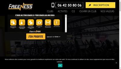 Site internet de Freeness