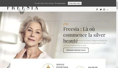 Site internet de Freesia