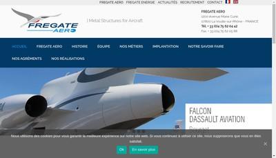 Site internet de Fregate Aero