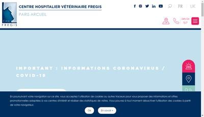 Site internet de Fregis