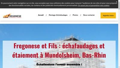 Site internet de Fregonese & Fils