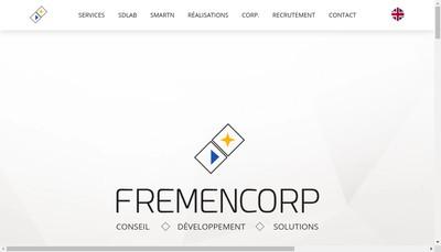 Site internet de Fremencorp