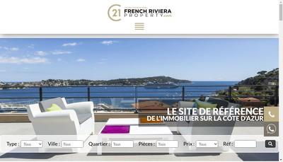Site internet de Agence Lafage Transactions