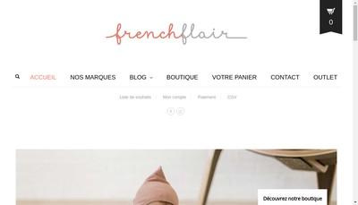Site internet de French Flair