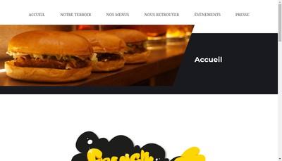 Site internet de SARL French Touch Burgers