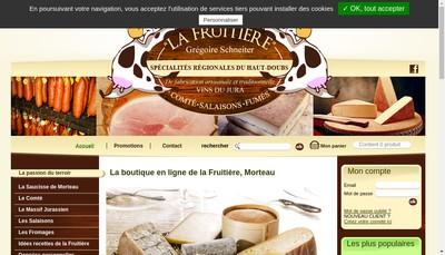Site internet de La Fruitiere
