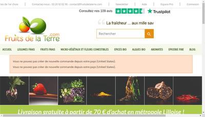 Site internet de Au Jardin du Coin