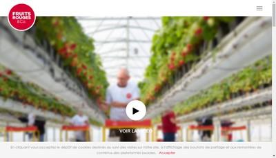Site internet de Les Fruits Rouges de l'Aisne