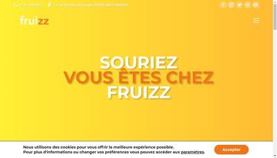 Site internet de Fruizz