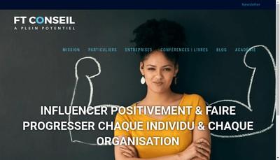 Site internet de Ft Conseils