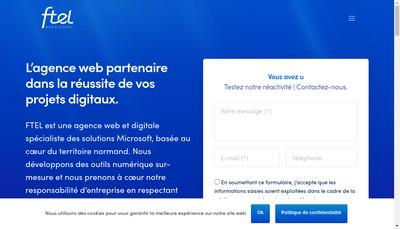Site internet de Ftel Edition