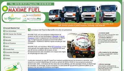Site internet de Maxime Fuel