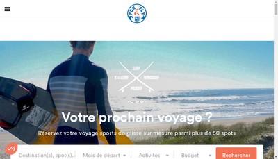 Site internet de Sport Away Voyages-Fun And Fly Destinati