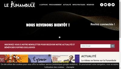 Site internet de Le Funambule