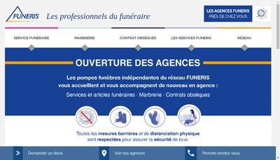 Site internet de Funeris
