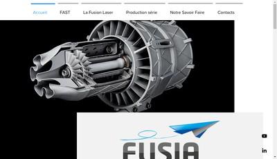 Site internet de Fusia