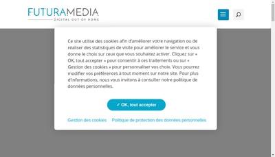 Site internet de Futuramedia