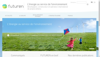 Site internet de Theolia France