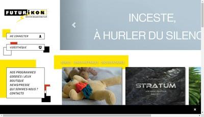 Site internet de Futurikon Spv