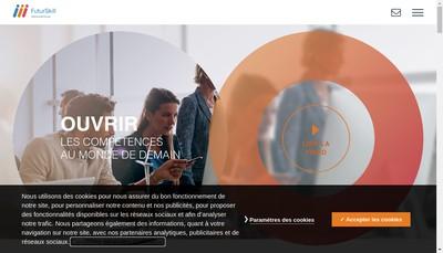 Site internet de Futurskill