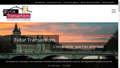 Site internet de Futur Transactions