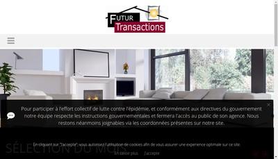 Site internet de Rev Immobilier