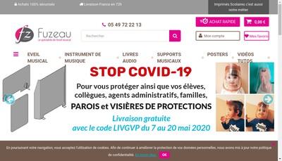 Site internet de Fuzeau SAS