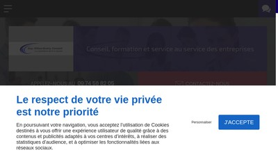 Site internet de Guy Gilles-Guery Conseil
