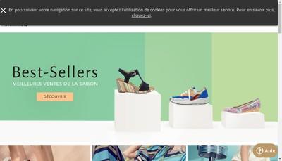 Site internet de Gabor