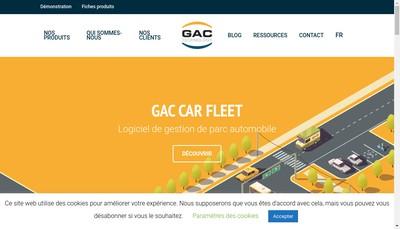 Site internet de Gac Technology