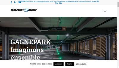 Site internet de Gagnepark