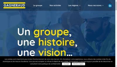 Site internet de Entreprise Gagneraud Pere et Fils