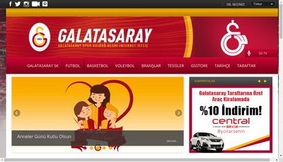 Site internet de Le Galatasaray