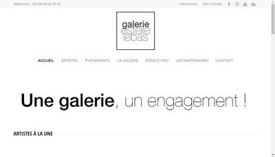 Site internet de Galerie Estelle Lebas