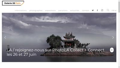 Site internet de Photo12 Galerie