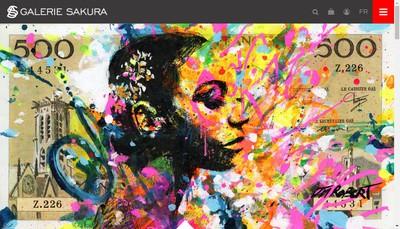 Site internet de Galerie Sakura