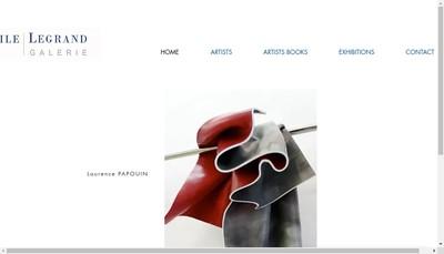 Site internet de Librairie Galerie Virgile Legrand