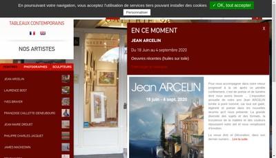 Site internet de Galerie 26