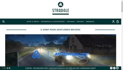 Site internet de SARL Stradale