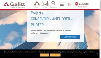 Site internet de Galitt
