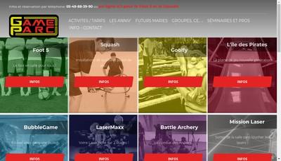 Site internet de Foot & Balls