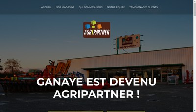 Site internet de Agri Partner
