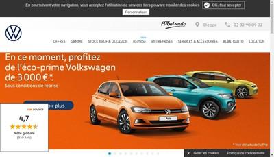Site internet de Concessionnaire Vag