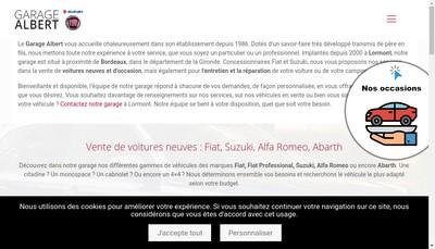 Site internet de Atm Auto