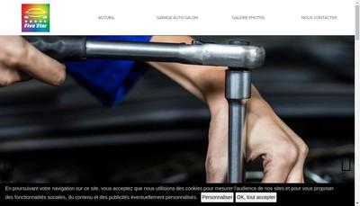 Site internet de Garage Auto Galon